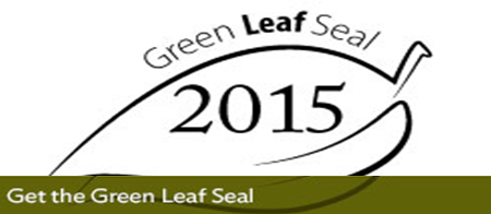 Get the Green Leaf Seal