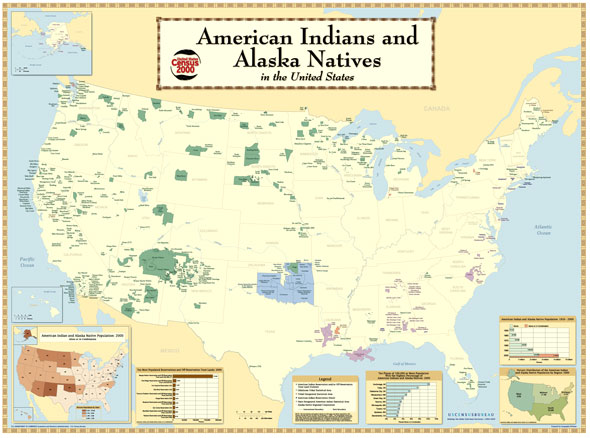 Native American lands in the US