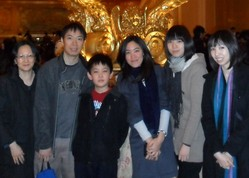 Photo of Judy Chan and her family.