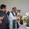 Recent baptism in Granja do Ulmeiro Rev. Bob Butterfield and Samuel