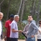 Bob Butterfield (extreme left), Jose Titosse (red shirt), Eduardo Conde (Methodist pastor, light blue golf shirt, center), Eduardo's son, Nini Titosse (Presbyterian pastor, far right)