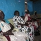 A few of the ladies listening to Aliamma about the Community Health Evangelism