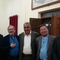 Nuhad Tomeh with the Iraqi church Presbyterian leaders.