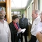 Dean Wondimu Legesse tours MYS Library with Rev. Debbie Braaksma, John, Horn of Africa liaison Rev. Michael Weller, and Rev. Dr. Jeff Ritchie, The Outreach Foundation