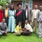 Graduation Day 2011. Rev. Temesgen Ayana, wife Shume, and daughter Koku with church elders & brother