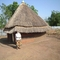 the Rev. Dr. Carolyn Weber's lodging at West Gambella Bethel Synod guest grass hut