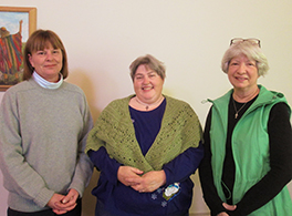Linda Wetzler, Jane Wynn, and Susan Champion Courtesy of Lock Haven (PA) Express