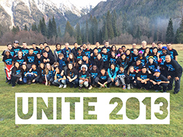Youth and leaders from across Seattle Presbytery at the first UNITE retreat Courtesy of HT Lee