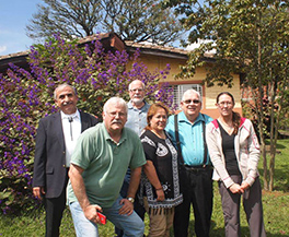 Members of the Presbytery of Tres Rios educational mission team to Colombia Photo by José Luis Casal
