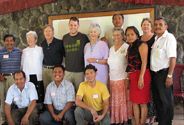 Leaders in the partnership between the Western North Carolina and Guatemalan presbyteries Courtesy of Anita Bernhardt