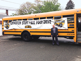"Ecumenical partnership and a committed volunteer network ""stuff the bus"" with hope. Courtesy of Kevin Yoho"