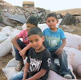 Bedouin boys in East Jerusalem Photo by Paul Talarico