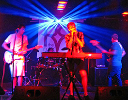 New Market member Ben Ross (on keyboard) and his band, Color You, playing at the Ruby Room in Ben's adopted home of San Diego. Photo courtesy of Mittens