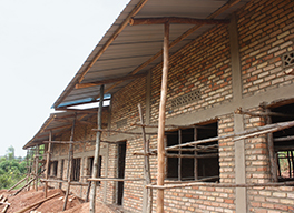 he front of the secondary school in Bihembe Photo by Carroll J. Schacht