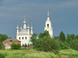 Orthodox Church at Davydovo Photo by Rob Weingartner