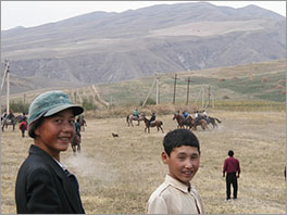 Young people in Central Asia