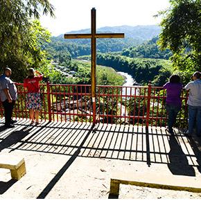Campamento El Guacio in western Puerto cross