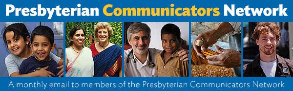 Presbyterian Communicators Network newsletter banner