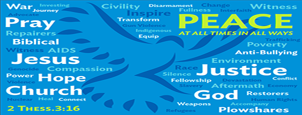 Peacemaking wordle