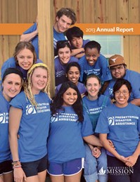 Cover of the  Presbyterian Mission Agency annual report