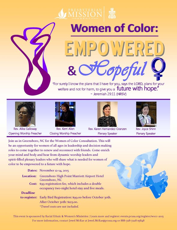 Women of Color Consultation 2015