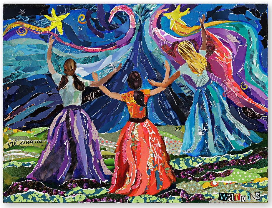 detail from the Celebrate the Gifts of Women resource