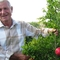 Kostanyan Enoq, next to his pomegranate tree, received a micro-loan from JMF to produce organic agricultural goods in Lukashen village, Armavir region.
