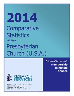 Cover of the Comparative Statistics report